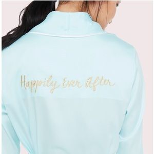 Kate Spade Happily Ever After bridal robe L/XL